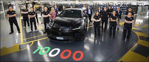 10.000ste Lamborghini Urus is een feit (2020)