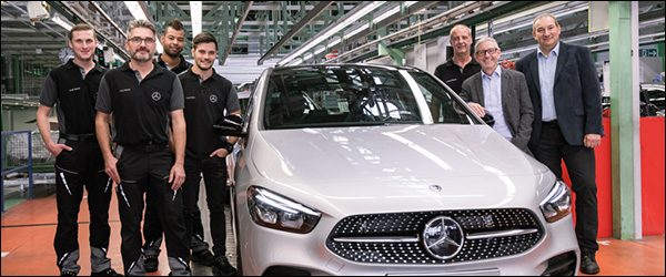 Productie Mercedes B-Klasse (2018) gestart!
