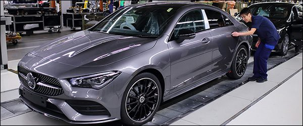 Productie Mercedes CLA Coupe (2019) van start