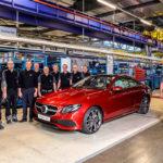 Productie Mercedes E-Klasse Coupe (2017) van start