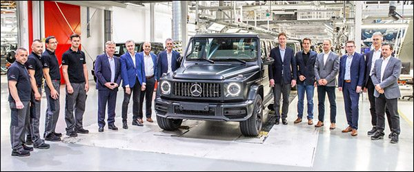 Productie Mercedes G-Klasse (2018) van start