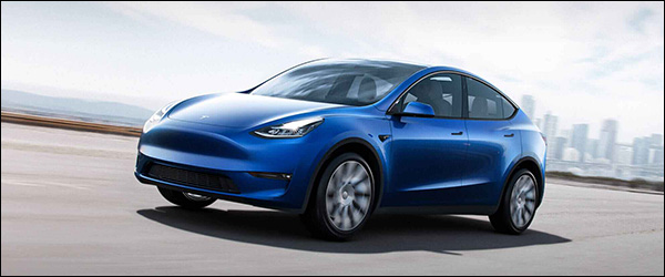 Leveringen Tesla Model Y van start!