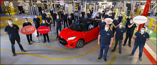 Productie Toyota Yaris (2020) van start!