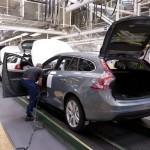 Volvo V60 productie