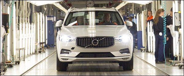 Productie Volvo XC60 van start!
