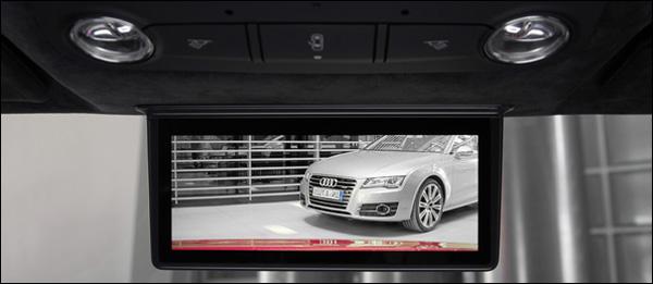 Digitale achteruitkijkspiegel Audi R8 e-torn