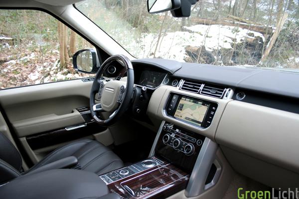 Range Rover 2013 test