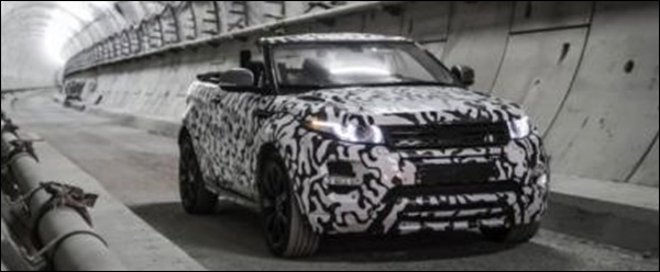Video: Range Rover Evoque Cabrio komt in 2016