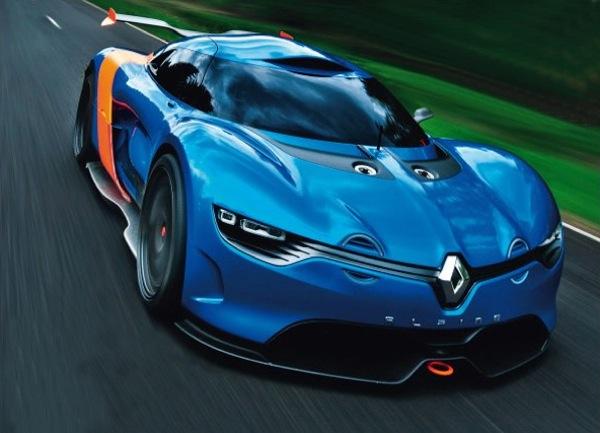 Renault Alpine Concept A110-50
