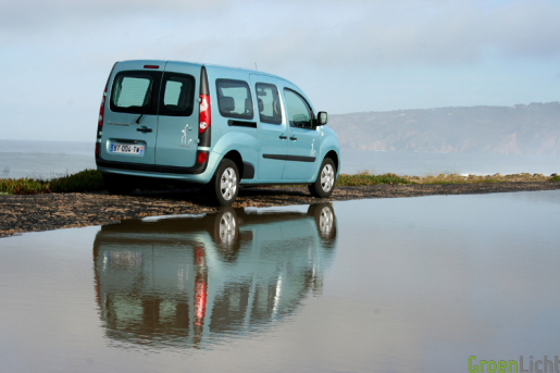 Renault Kangoo ZE test