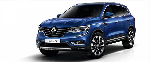 Officieel: Renault Koleos SUV (2016)