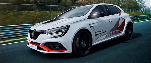 Nieuwe Renault Megane RS Trophy-R pakt alvast Nürburgring ronderecord (2019)