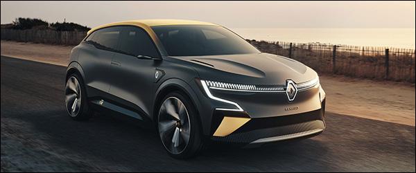 Officieel: Renault Megane eVISION (2020)