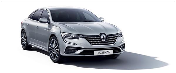 Officieel: Renault Talisman + Talisman Grandtour facelift (2020)