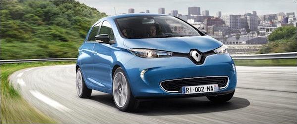 Renault Zoe heeft rijbereik van 400 km!