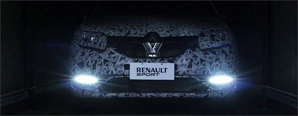 Teaser: Renault Sandero RS