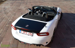Rijtest: Abarth 124 Spider MultiAir Turbo (2016)