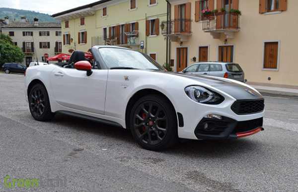 Kort Getest: Abarth 124 Spider (2016)
