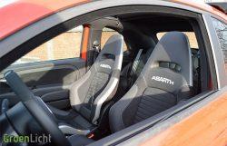 Rijtest Abarth 595 595C Competizione (2016)