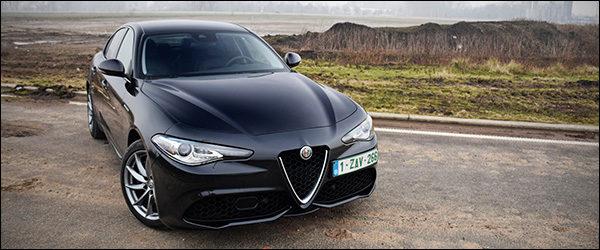 Rijtest: Alfa Romeo Giulia 2.0 Veloce (2017)