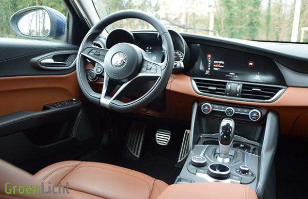 Rijtest: Alfa Romeo Giulia berline 2.2 JTDm 180 pk AT automaat (2016)