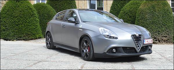 Rijtest: Alfa Romeo Giulietta Quadrifoglio Verde