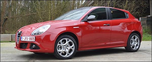 Rijtest Alfa Romeo Giulietta Sprint 1 4 Multiair