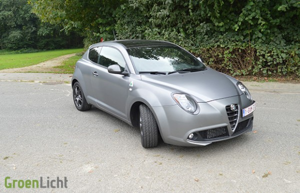 Rijtest: Alfa Romeo MiTo Quadrifoglio Verde 2014