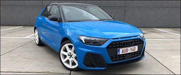 Rijtest: Audi A1 Sportback 30 TFSI (2019)