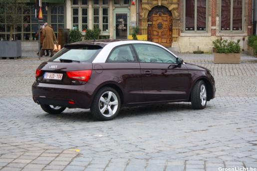 Rijtest: Audi A1 1.6 TDI