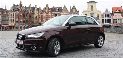 Rijtest Audi A1 TDI