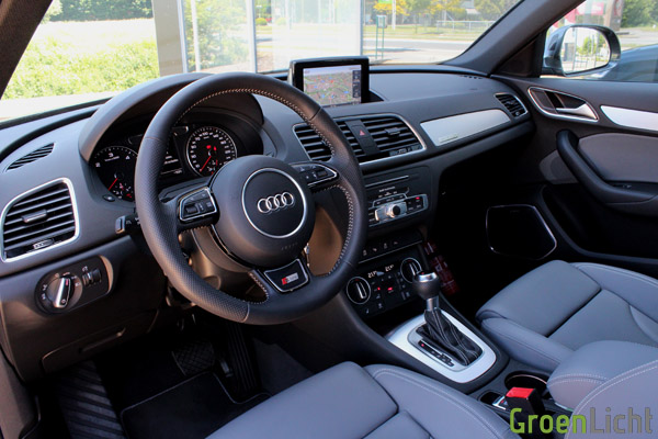 Rijtest audi q3 for Interieur q3