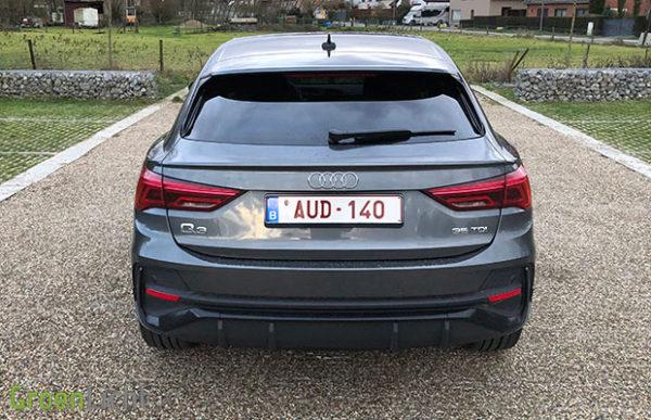 Rijtest: Audi Q3 Sportback 35 TDI S Tronic 150 pk S-Line crossover (2019)