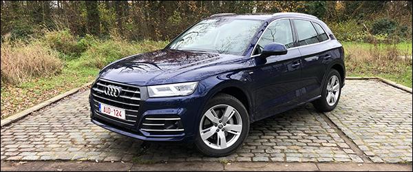 Rijtest: Audi Q5 55 TFSI e plug-in hybride 367 pk (2019)
