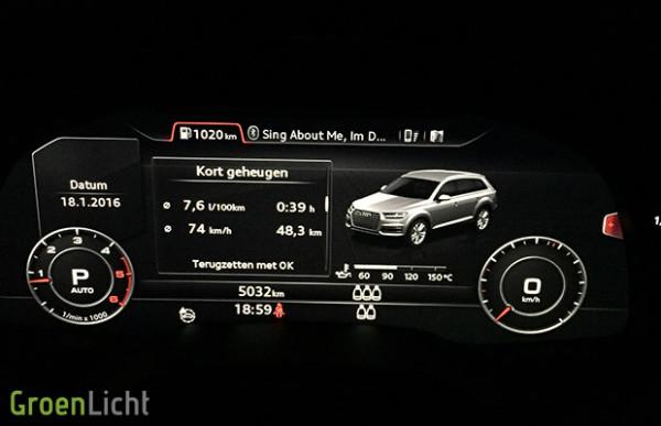 Rijtest: Audi Q7 3.0 TDI Ultra (2015)