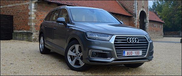 Rijtest: Audi Q7 3.0 TDI e-tron (2016)