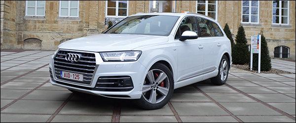 Rijtest: Audi SQ7 4.0 TDI V8 (2016)