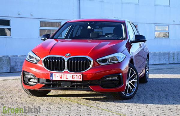 Rijtest BMW 1 Reeks 116d 116 pk F40 (2019)