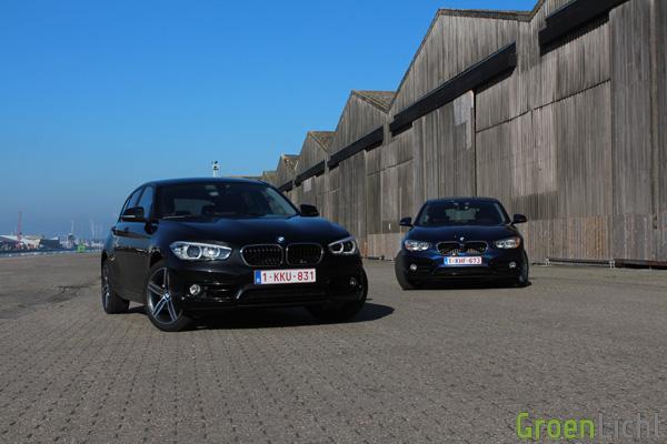 Rijtest - BMW 116d vs 118d - 1-Reeks LCI01