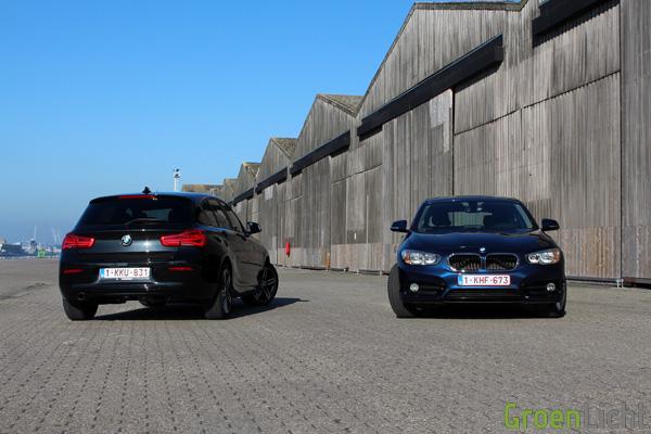 Rijtest - BMW 116d vs 118d - 1-Reeks LCI03