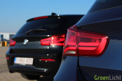 Rijtest - BMW 116d vs 118d - 1-Reeks LCI05