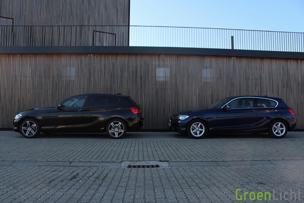 Rijtest - BMW 116d vs 118d - 1-Reeks LCI13