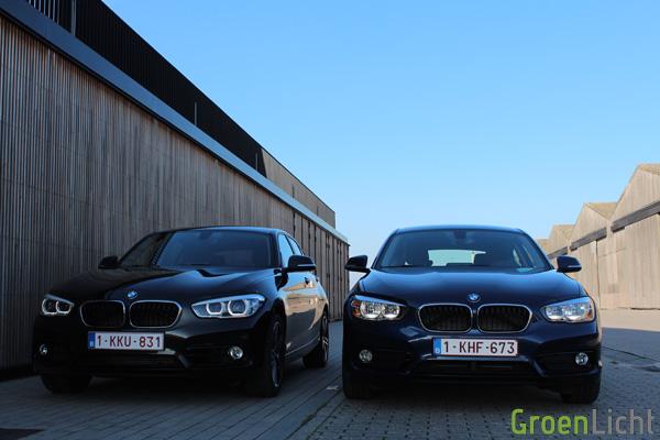 Rijtest - BMW 116d vs 118d - 1-Reeks LCI14