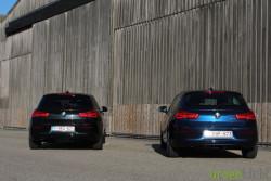 Rijtest - BMW 116d vs 118d - 1-Reeks LCI15
