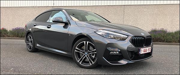 Rijtest: BMW 2 Reeks 220d Gran Coupe F44 190 pk M Sport (2020)
