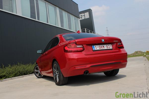 Rijtest BMW 2-Reeks Coupe - 220i Sport Line 15