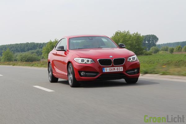 Rijtest BMW 2-Reeks Coupe - 220i Sport Line 28