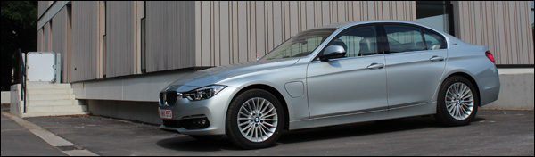 Rijtest - BMW 330e - Header
