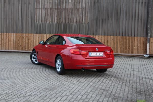 Rijtest BMW 4-Reeks Diesel 184 pk Rood 1