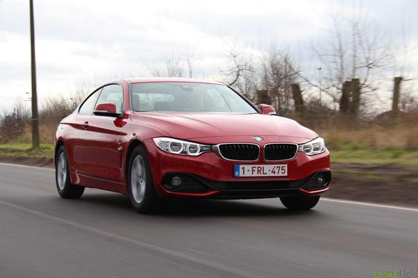 Rijtest BMW 4-Reeks Sport Line 1